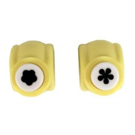 2 perforatrices fleurs 1cm