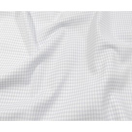 tissu vichy 2mm bleu ciel largeur 140cm x 50cm