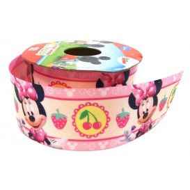 ruban satin disney minnie 38mm x 50cm