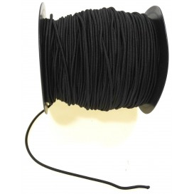 élastique rond poly/latex au mètre