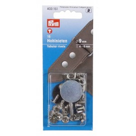 15 rivets tubulaires 4-6mm
