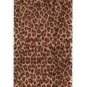 feuille decopatch guepard
