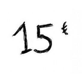 Chèque cadeau de 15€