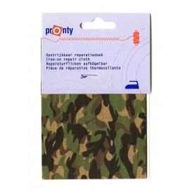 pièce thermocollante camouflage 10 x 40cm