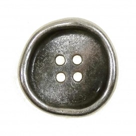 bouton en métal usé 15mm