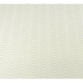 tissu simili cuir vagues écru largeur 138cm x 50cm