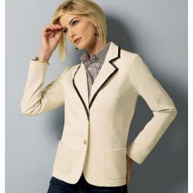 patron veste ajustée Butterick B5926