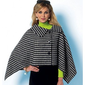 patron cape très ample Butterick B5819