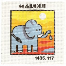KIT CANNEVAS ELEPHANT