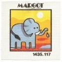 kit canevas margot elephant