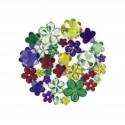strass fleurs multicolores 204 pièces