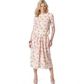 patron jupe-culotte Butterick B6178