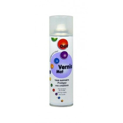 vernis mat spray 250ml