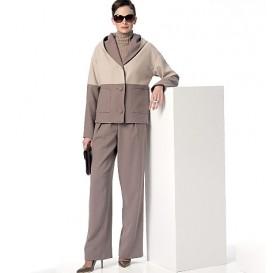patron veste, jupe et pantalon Vogue V9163