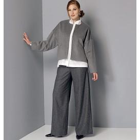 patron veste, chemise et pantalon Vogue V9162
