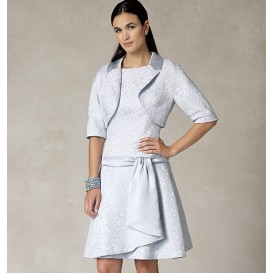 patron veste et robe Vogue V1485