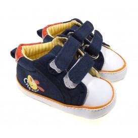 chaussures bébé bleu foncé 0-6mois
