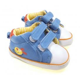 chaussures bébé bleu clair 6-12mois