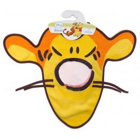 bavoir tête de Tigrou avec pouet-pouet