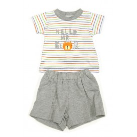 ensemble short t-shirt 1mois