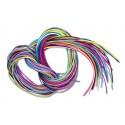 20 fils scoubidou de 1m 10 coloris