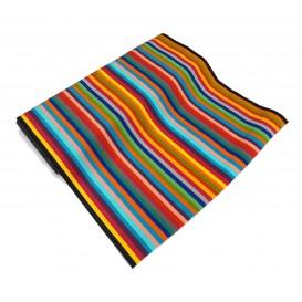 tissu toile transat multicolore largeur 44cm x 50cm