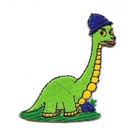 écusson dinosaure bonnet thermocollant