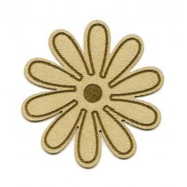 écusson fleur à coudre n°2