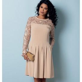 patron robe ajustée Butterick B6281