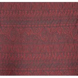 tissu ameublement bali bordeaux largeur 150cm x 50cm