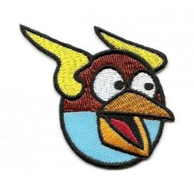 écusson angry birds space oiseau bleu thermocollant