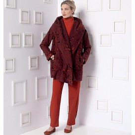 patron veste et pantalon Vogue V9140