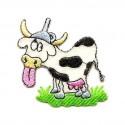 écusson vache folle thermocollant