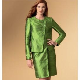 patron veste, haut, robe et pantalon Vogue V9094