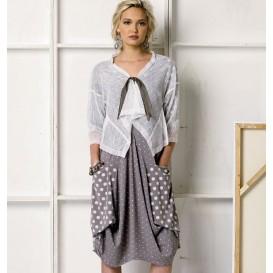 patron robe et veste Vogue V8975