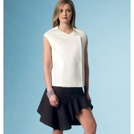 patron haut et jupe Vogue V1450