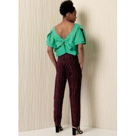 patron haut et pantalon Vogue V1507