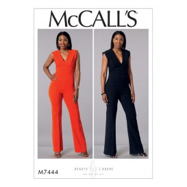 patron combinaison moulante McCall's M7444