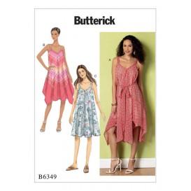 patron robe ajustée Butterick B6349