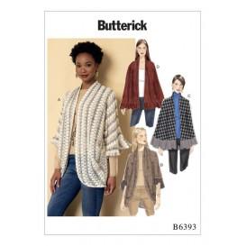 patron enveloppant Butterick B6393
