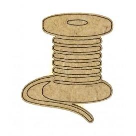 sujet en bois bobine de fil