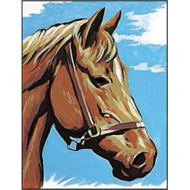 kit canevas margot cheval
