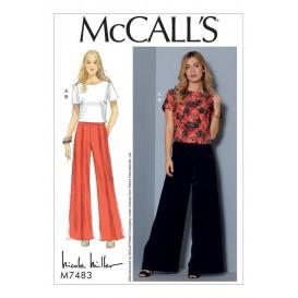 patron haut et pantalon McCall's M7483