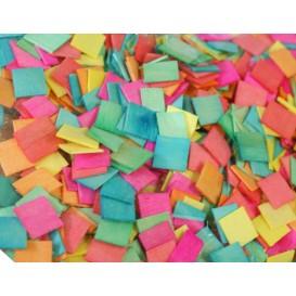500 mosaïques en bois couleurs pastels 1x1cm