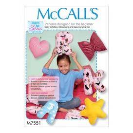 patron coussins McCall's M7551
