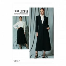 patron veste, chemisier et jupe Vogue V1527