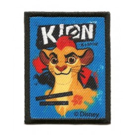écusson disney kion le roi lion rectangle thermocollant