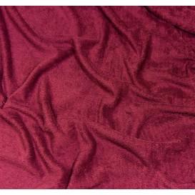 tissu éponge pourpre largeur 160cm x 50cm