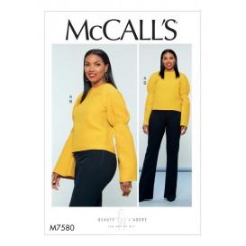patron haut et pantalon McCall's M7580