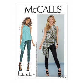 patron haut et pantalon McCall's M7579